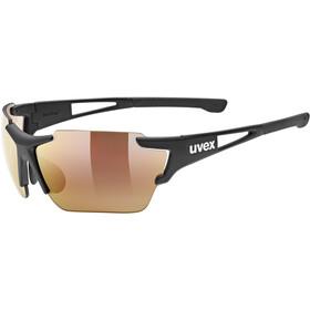 UVEX Sportstyle 803 Race Colorvision VM Gafas deportivas, black mat/litemirror red